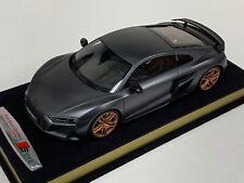 1/18 GT Spirit AUDI R8 Decennium 2019 Matt Daytona grey. GT251 custom base