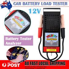 6V/12V 100Amp Car Van Auto Battery Load Tester Analyser Drop Charging System Kit