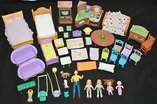 Fisher Price Loving Family Dollhouse LOT OF FURNITURE PEOPLE BABY +