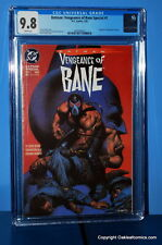 Batman: Vengeance of Bane Special #1 CGC 9.8 DC 1993 1st Bane! Just in from CGC!