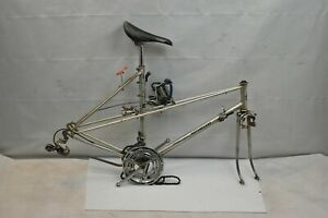 1970 Motobecane Mixte Touring Road Bike Frame Set 54cm Small Suntour VGT Charity