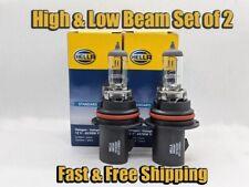 High & Low Beam Headlight Bulb For Nissan Xterra 2002-2015 Set of 2