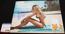 HOT Nina Agdal signed 11 x 14, Sports Illustrated Swimsuit, PSA/DNA
