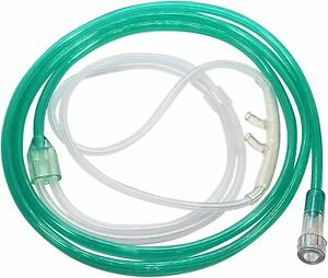 Westmed 7' Comfort Soft Plus Adult Cannula Green Tubing New in Package