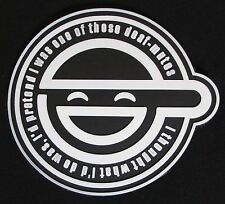 GHOST IN THE SHELL LAUGHING MAN LOGO 3D PVC GLOW IN THE DARK ARMY VELCRO® PATCH