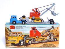 CORGI Gift Set No.27 machines Transporteur BEDFORD LOW LOADER & PRIESTMAN CUB SHOVEL