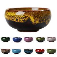 Ice-Crack Glaze Flower Ceramics Succulent Plant Pot Office Flowerpot Decor New