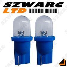 2 x 501 T10 W5W 194 VOITURE LED GLACE BLEU Feu Xénon Coussin Ampoules clignotant