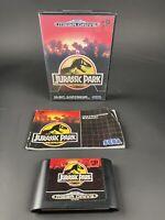 JURASSIC PARK Sega Mega Drive Game PAL Version Megadrive