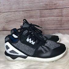 Adidas Men's Originals Tubular Runner Shoes (AQ5404) Black/Onix-Legacy White