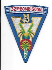 USAF 32nd Bomb Squadron patch