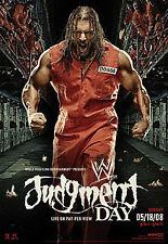 WWE Judgment Day 2008 New DVD Region 4 NTSC
