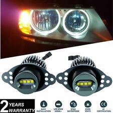 2x E90 E91 LCI 2008-2011 LED Angel Eyes Upgrade Halo Ring Bulbs Kit 40W CREE XTE