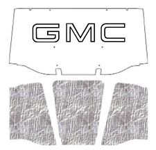 1967 1968 GMC Truck Under Hood Cover with G-001 GMC
