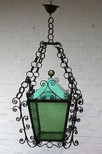 Riesige Laterne - Außenlampe - Schmiedeeisen - 30- 40er Jahre - Villa - Landhaus