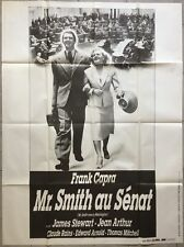 Affiche M SMITH AU SENAT Mr Smith goes to Washington CAPRA James Stewart 120x160