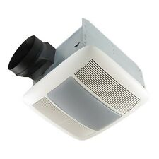 QTX Series Very Quiet 110 CFM Bathroom Fan, Light and Night Light