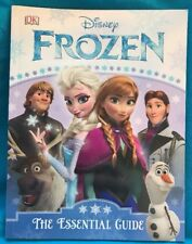 New Disney Frozen Elsa Anna Olaf The Essential Guide Paperback Book 64 pages