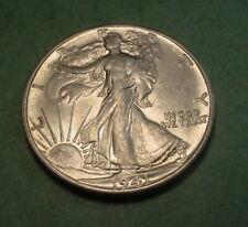 #FL9073 ) -   WALKING LIBERTY  SILVER  HALF DOLLAR - 1941-S - NEAR MINT