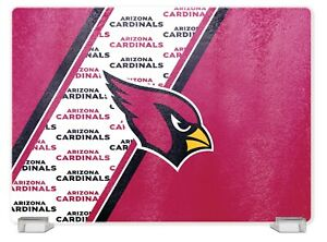 ARIZONA CARDINALS TEMPERED GLASS CUTTING BOARD FROM DUCKHOUSE SPORTS