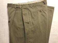 Men's Banana Republic Pleated Khaki Safari & Travel Pants Size 35-30 Made In USA
