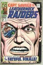 Captain Savage And His Leatherneck Raiders #4-1968 vg-