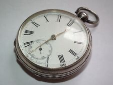 Superb 1888 Solid Silver Waltham Pocket Watch, Beautiful Working Antique Item!