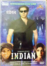 Indian - Sunny Deol, Shilpa Shetty - Hindi Movie DVD / Region Free / Subtitles