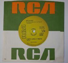 """Disney Record """"No Son Palabritas / Carita Linda Y Triste"""" -31Z-2284- Mint (M)"""