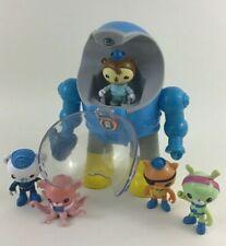 Octonauts Tweak's Octo Max Suit Lights Sounds 6pc Lot Figures Toy Fisher Price