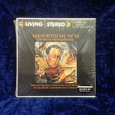 Classic Records Heifetz/ Munch Boston Smyph LSC-2314 Red Label Concerto New!