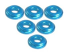 Integy 3RAC-WFS820/LB 3Racing Shock Tower Shim M8 x 2mm (6pcs) - LIght Blue