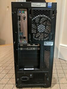 Cyberpower PC. Intel i7-8700 3.2GHz, 16GB ram, GTX 1060 3GB, 120GB SSD+1TB HDD