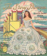 Vntge Uncut 1940S Story Princess Paper Doll Lasr Reproduction~Lo Pr~Hi Q Free Sh