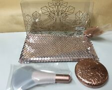 "MAC HOLIDAY  2017 SNOW BALL FACE BAG/ GOLD ""NEW"" LIMITED EDITION"