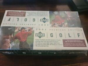 2001 Upper Deck Golf sealed rack pack box