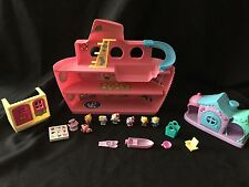 2011 Sanrio Hello Kitty Cruise Ship Boat Yacht Play Set with extras