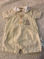 Peter Rabbit Beatrix Potter Baby Girls Boys  Sz 6-9 months Easter Romper Outfit