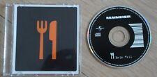 Rammstein Mein teil - 2004 Universal 3 Inch 2 Track Cd-Single