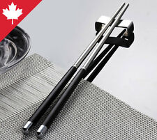 Chopsticks Premium Japanese Stainless Steel Metal Reusable Eco-Friendly Round