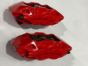 C7 Chevy Corvette Rear Calipers Brembo Used Stingray