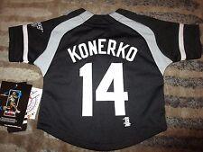 Paul Konerko #14 Chicago White Sox Adidas Jersey Baby Toddler 12M NEW
