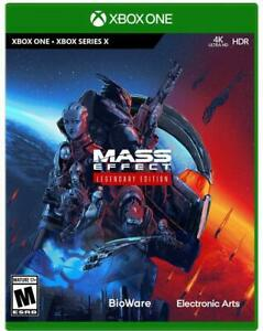 Mass Effect LEGENDARY Edition Trilogy (Xbox 1 One and Series X, Physical) NEW!!!
