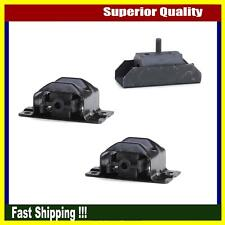 Anchor New Set 3PCs Engine Motor & Trans Mount For Buick Commercial Chassis Base