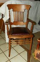 Quartersawn Oak Armchair / Desk Chair  (AC92)