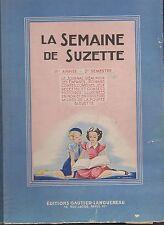 SEMAINE DE SUZETTE 1948 reliure éditeur n°27 à 53. Bel état complet