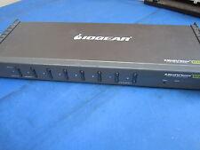 Iogear MiniView Ultra+ 8-Port Multi-platform KVM Switch GCS1758