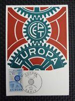 FRANCE MK 1967 EUROPA CEPT MAXIMUMKARTE CARTE MAXIMUM CARD MC CM c2484