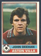 TOPPS 1977 FOOTBALLERS #003-ASTON VILLA-JOHN DEEHAN-*ROOKIE* CARD