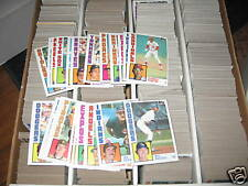 (10) 1984 Topps Lot - YOU PICK - FINISH YOUR SET - NMMT